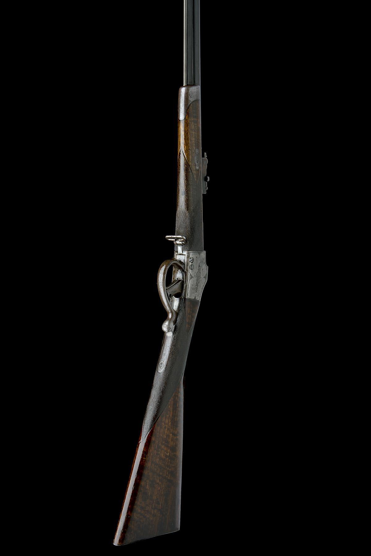 CHILEAN COMBLAIN AN 11x50R SINGLE-SHOT FALLING-BLOCK SPORTING-RIFLE, UNSIGNED, MODEL 'M84 COMBLAIN - Image 8 of 9