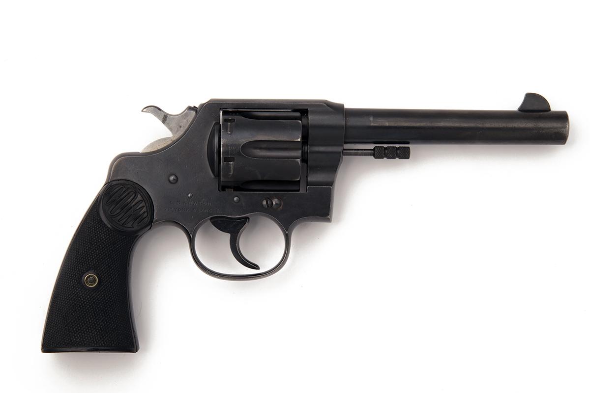COLT, USA A .455 SIX-SHOT SERVICE-REVOLVER, MODEL 'COLT'S NEW SERVICE', serial no. 77240, for