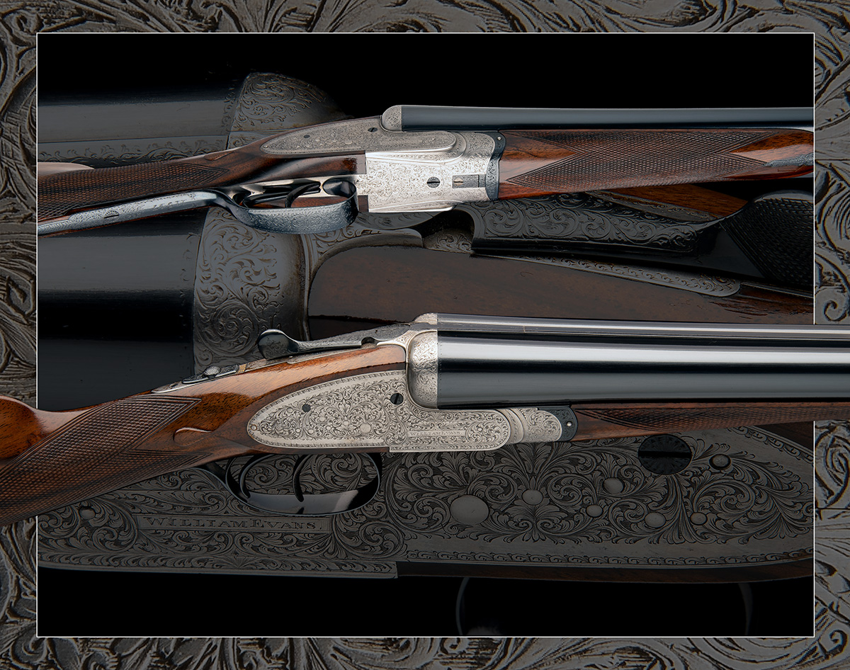 WILLIAM EVANS A 12-BORE SIDELOCK EJECTOR, serial no. 11547, for 1916, 28in. nitro barrels, the rib - Image 12 of 12