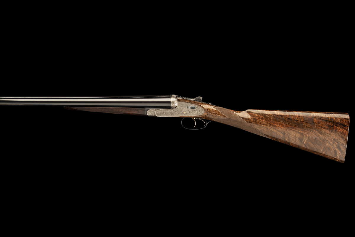 HOLLAND & HOLLAND A 12-BORE 'ROYAL' SELF-OPENING HAND-DETACHABLE SIDELOCK EJECTOR, serial no. 33347, - Image 8 of 9