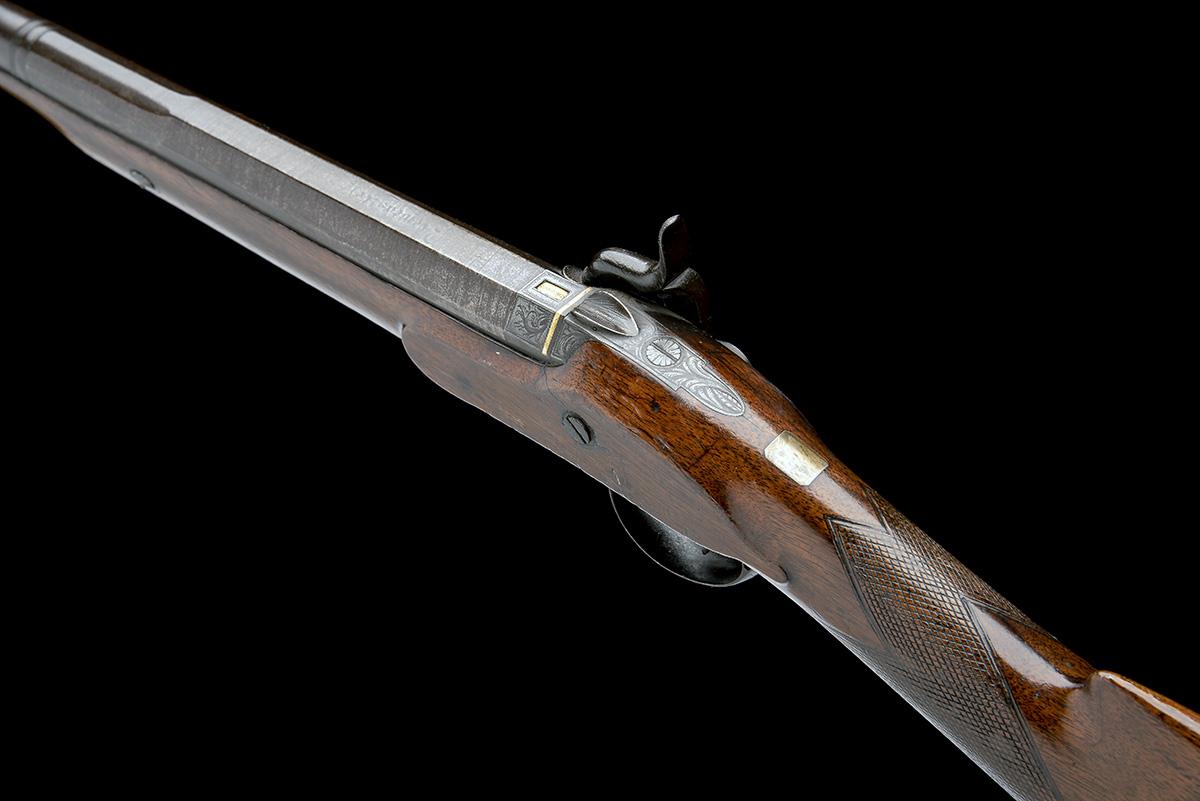 W. DAVISON, NEWCASTLE A 14-BORE PERCUSSION SINGLE-BARRELLED SPORTING-GUN, no visible serial - Image 8 of 10