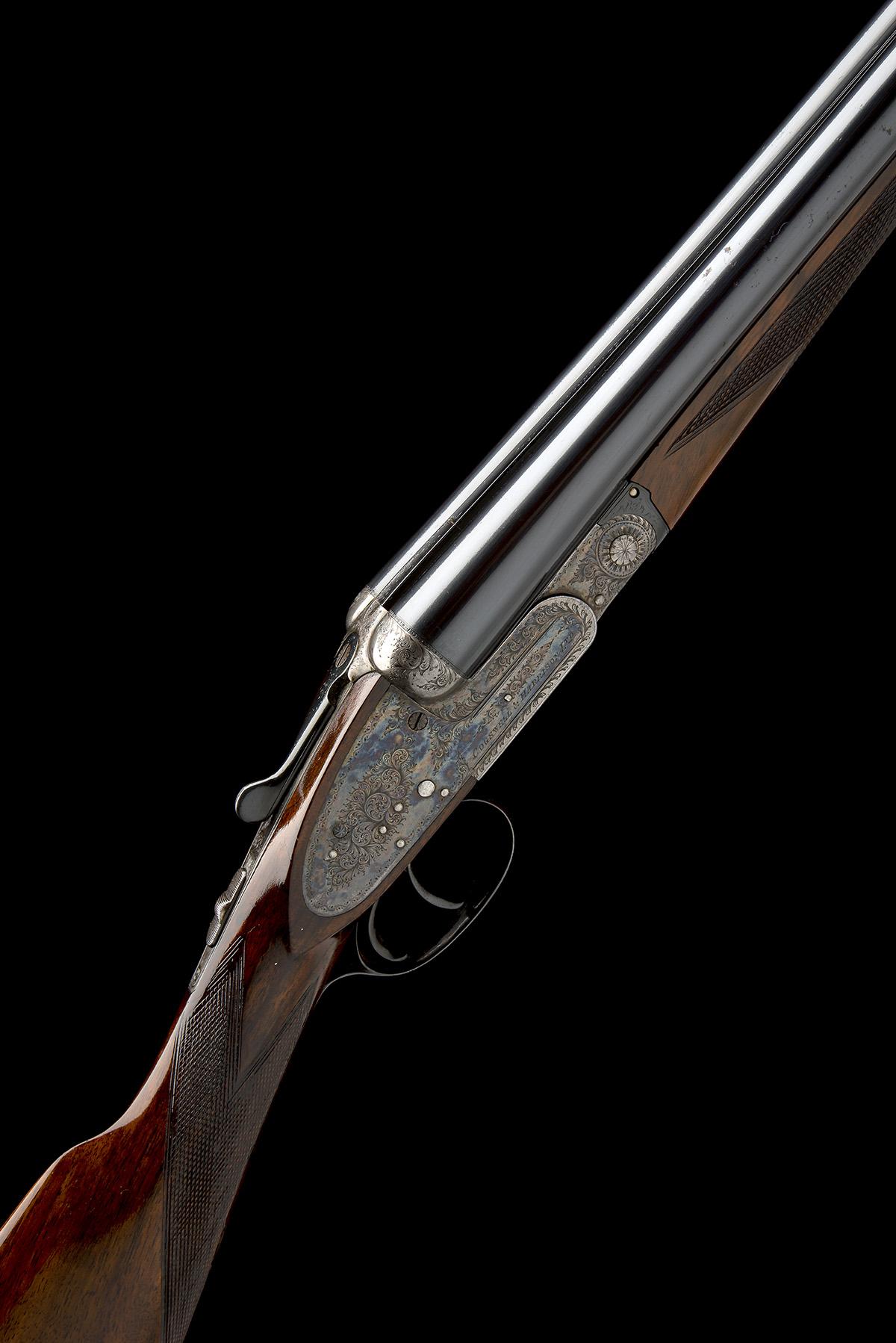 COGSWELL & HARRISON A 12-BORE SIDELOCK EJECTOR, serial no. 56378, circa 1929, 27 1/2in. (70cm) nitro