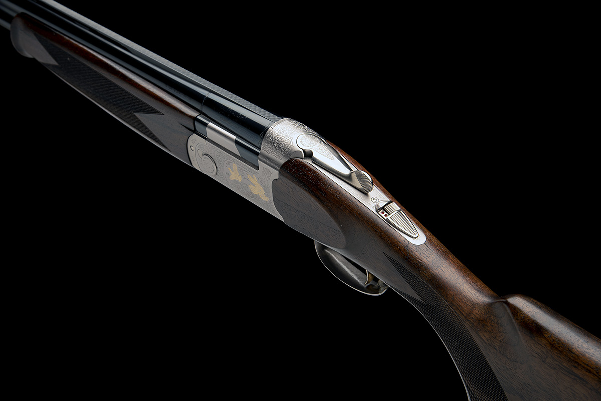 P. BERETTA A 12-BORE 'ULTRA LIGHT DELUXE' SINGLE-TRIGGER OVER AND UNDER EJECTOR, serial no. R00281S, - Image 5 of 8