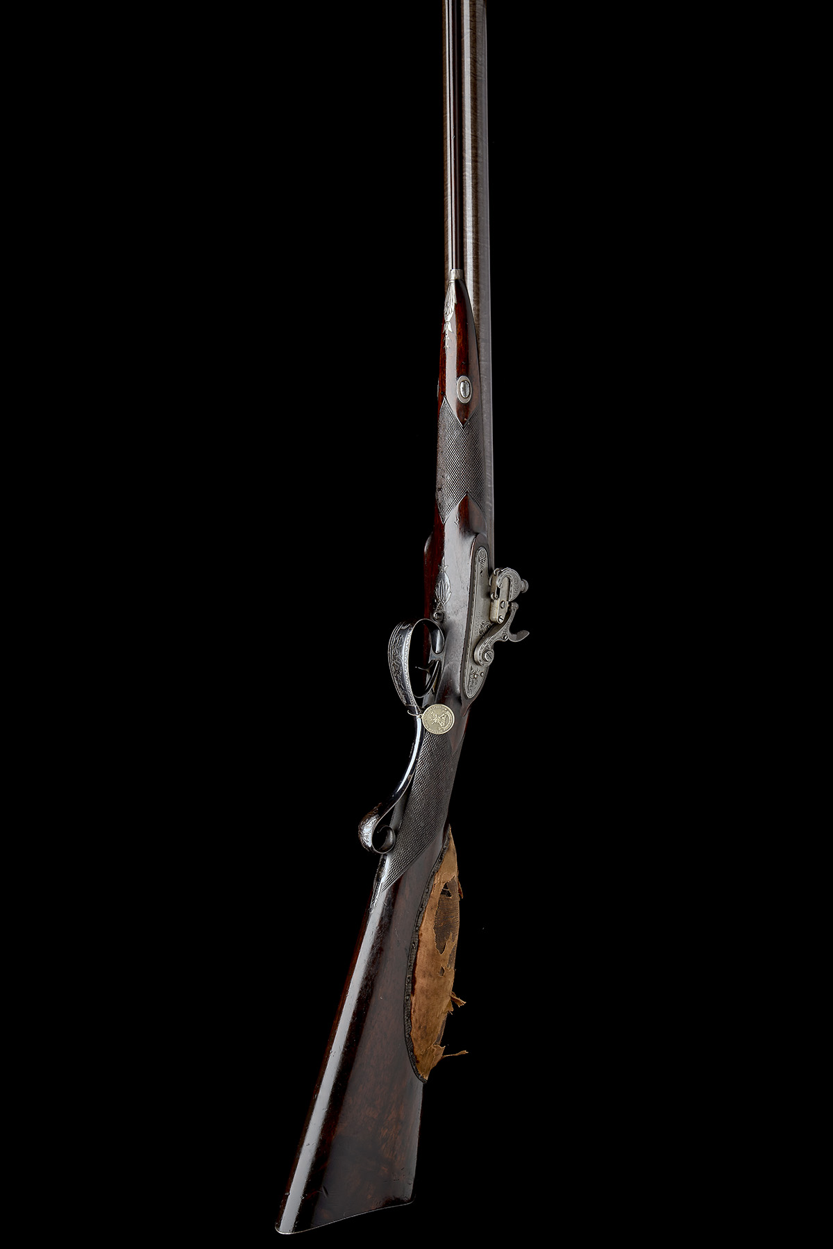 EX W. KEITH NEAL: FORSYTH & CO., LONDON AN EXCEEDINGLY RARE 19-BORE SELF-PRIMING SPORTING GUN, - Image 17 of 21