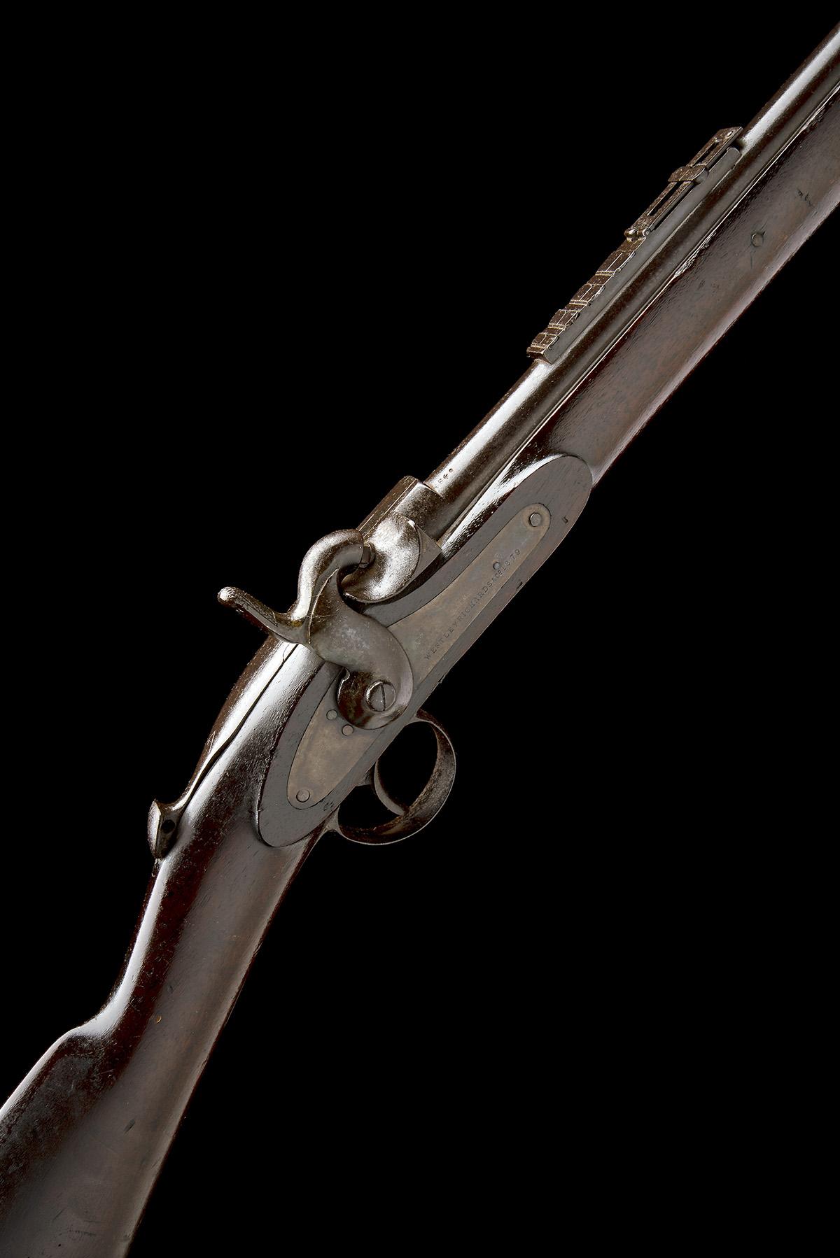 WESTLEY RICHARDS & CO, BIRMINGHAM A .450 (WHITWORTH) CAPPING BREECH-LOADING CARBINE, MODEL '