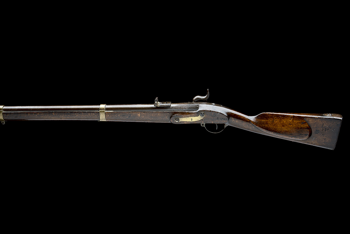 DANZIG ARSENAL, GERMANY A .695 PERCUSSION RIFLED MUSKET, MODEL 'POTSDAM STYLE', serial no. Z843, - Image 2 of 8