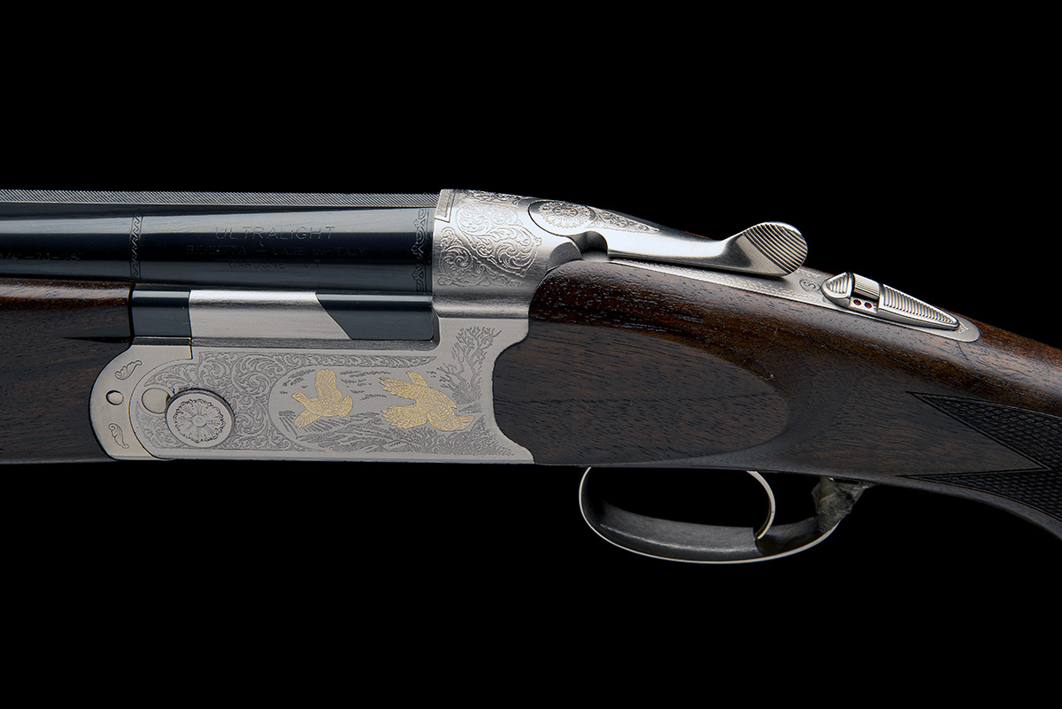 P. BERETTA A 12-BORE 'ULTRA LIGHT DELUXE' SINGLE-TRIGGER OVER AND UNDER EJECTOR, serial no. R00281S, - Image 4 of 8