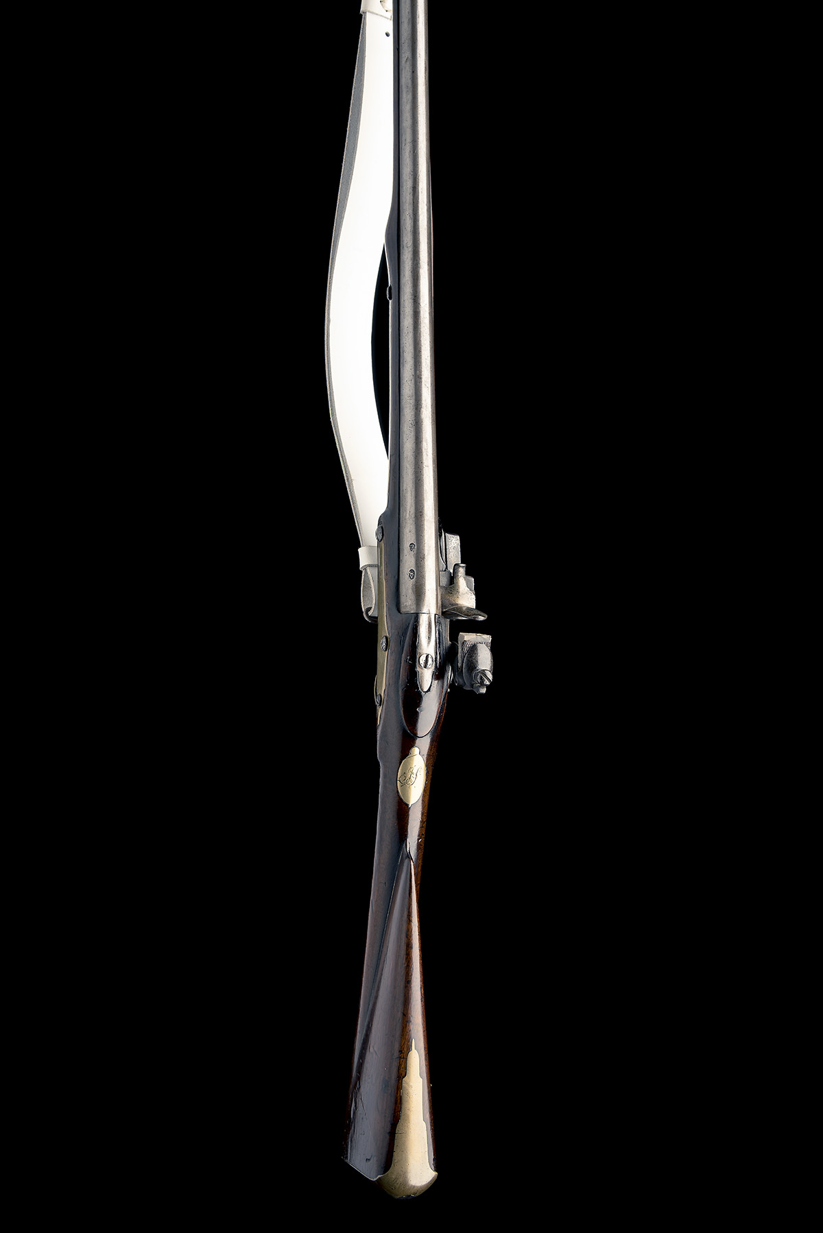 RICHARDS, LONDON A .650 FLINTLOCK MUSKET, UNSIGNED, MODEL 'LIVERY MUSKET', no visible serial number, - Image 3 of 8