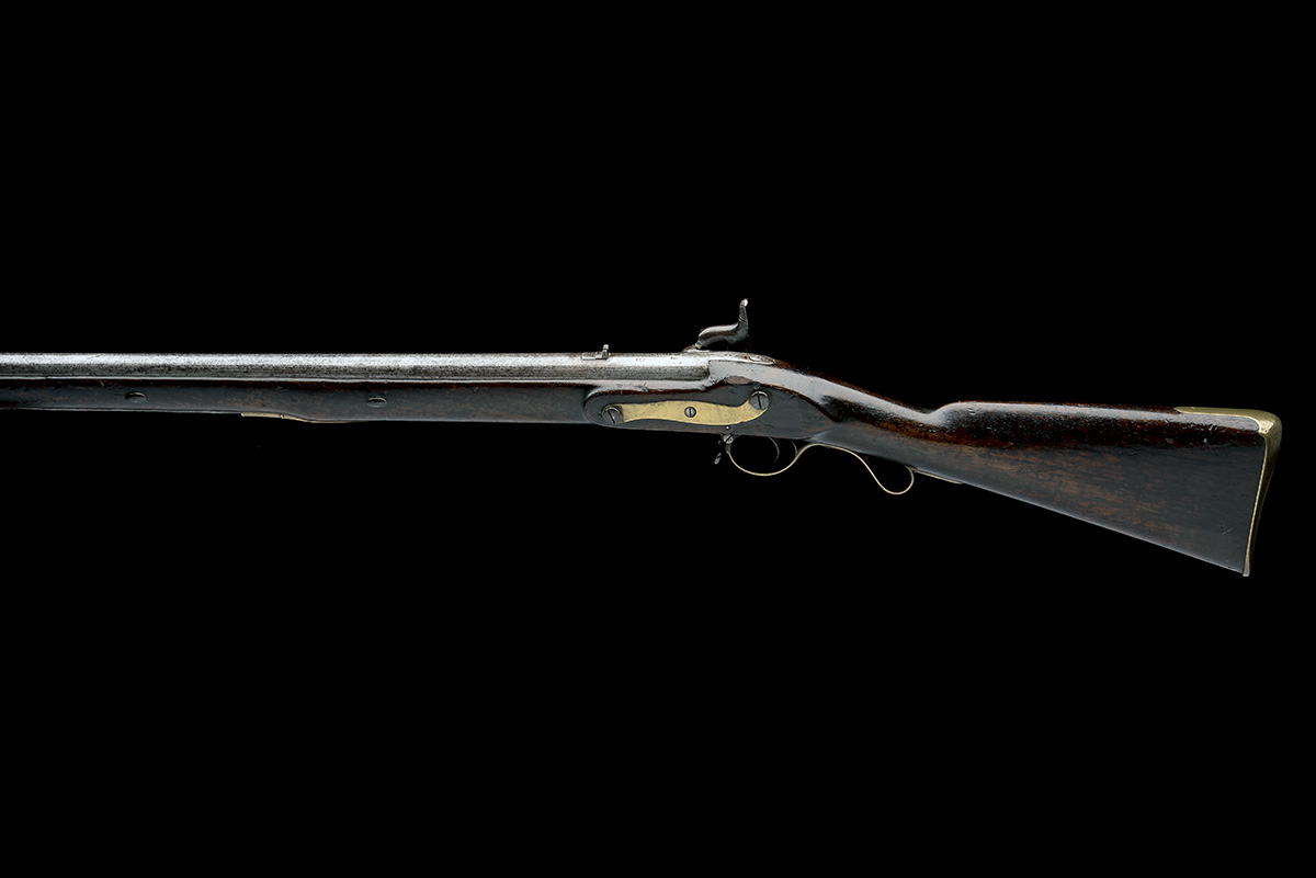 A .750 PERCUSSION SINGLE-SHOT MUSKET FOR THE EAST INDIA COMPANY, MODEL '1839 SERGEANT OF THE LINE - Image 2 of 8