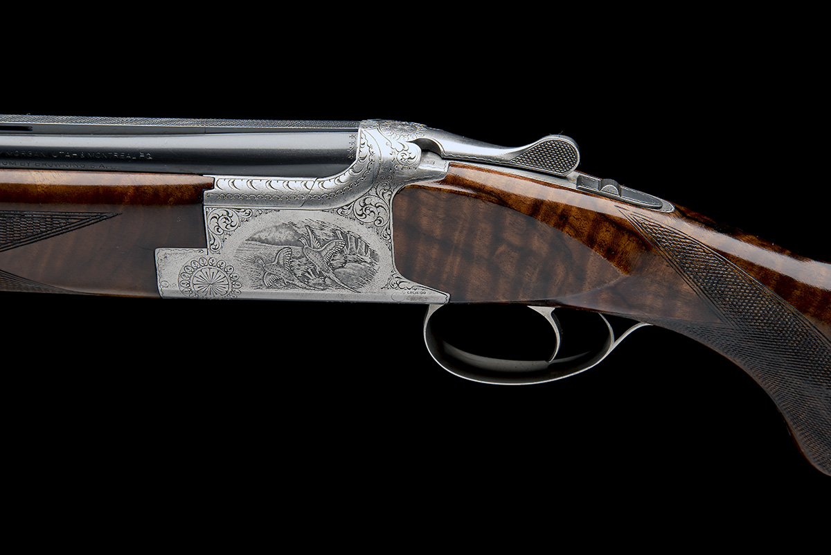 BROWNING ARMS COMPANY A PERFIDO-ENGRAVED 20-BORE 'MOD. B2G' SINGLE-TRIGGER OVER AND UNDER EJECTOR, - Image 5 of 11