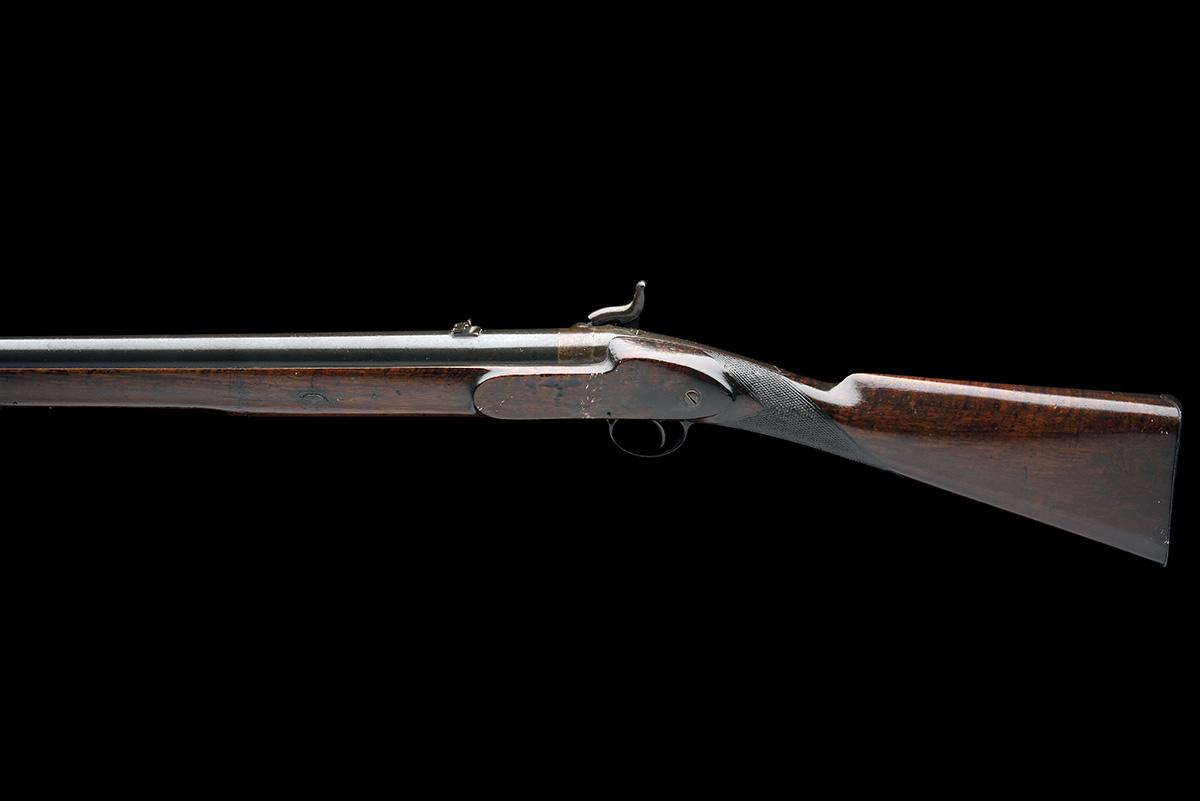 C.G. BALES, DURBAN, SOUTH AFRICA A RARE 4-BORE PERCUSSION RIFLED SHOT & BALL GUN FOR DANGEROUS GAME, - Image 2 of 10