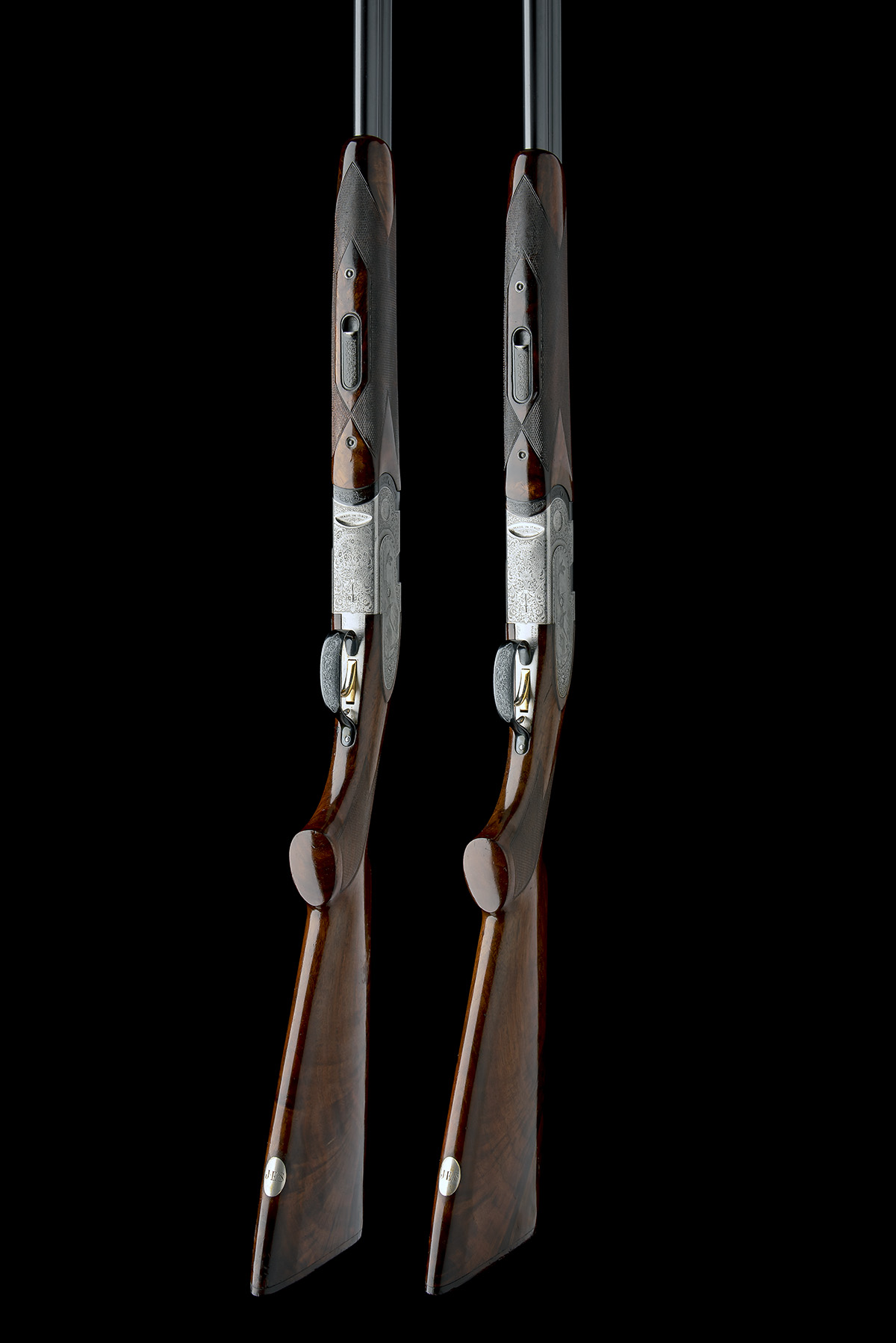 P. BERETTA A PAIR OF 20-BORE 'MOD. 687 EELL' SINGLE-TRIGGER OVER AND UNDER EJECTORS, serial no. - Image 7 of 10