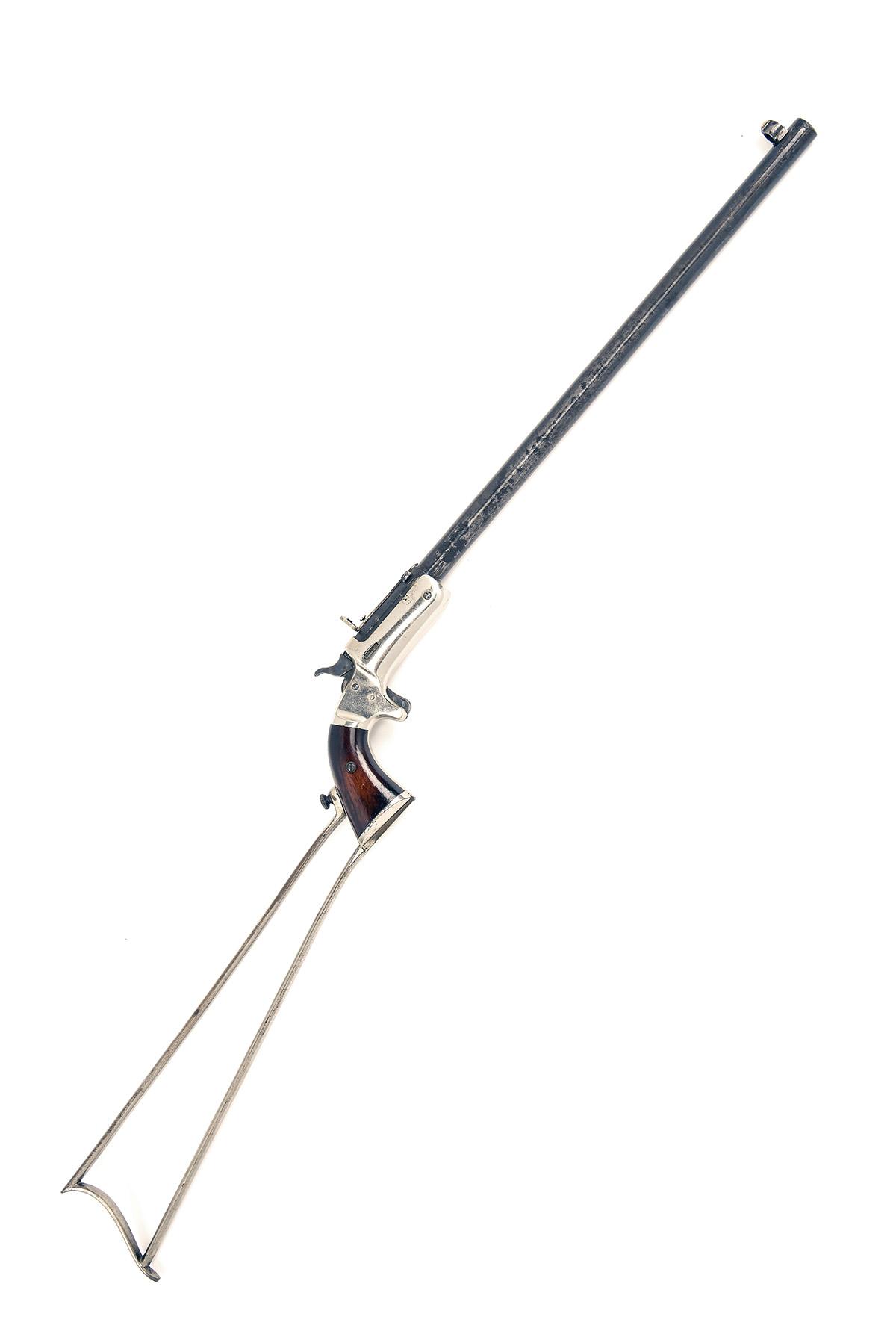 J. STEVENS, USA A .32 (RIMFIRE) TAKE-DOWN SHORT POCKET-RIFLE, MODEL 'NEW MODEL POCKET-RIFLE', serial - Image 2 of 4