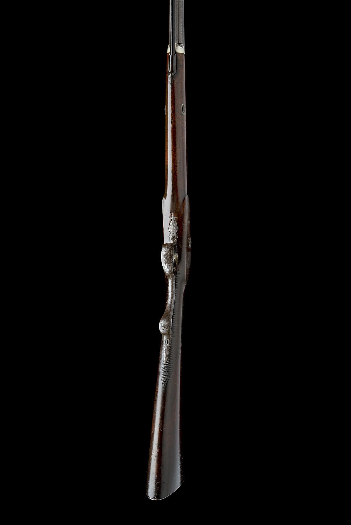 SMITH, LONDON A 12-BORE PERCUSSION SINGLE-BARRELLED SPORTING-GUN, no visible serial number, circa - Image 3 of 8