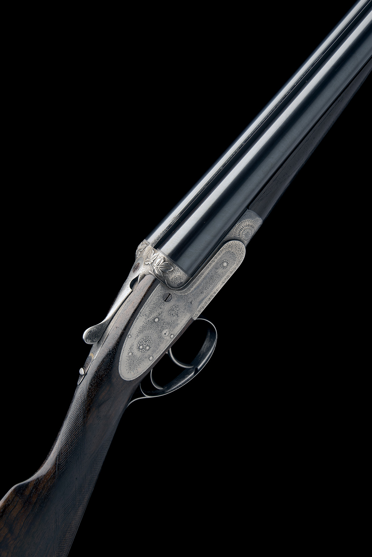 J. PURDEY & SONS A 12-BORE SELF-OPENING SIDELOCK EJECTOR, serial no. 16229, for 1898, 26in.