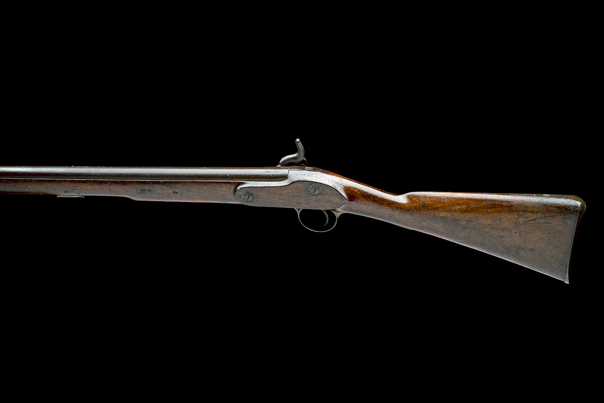 LACY & CO, LONDON A .750 PERCUSSION CARBINE, MODEL 'PATTERN '42 CONSTABULARY CARBINE', no visible - Image 2 of 8