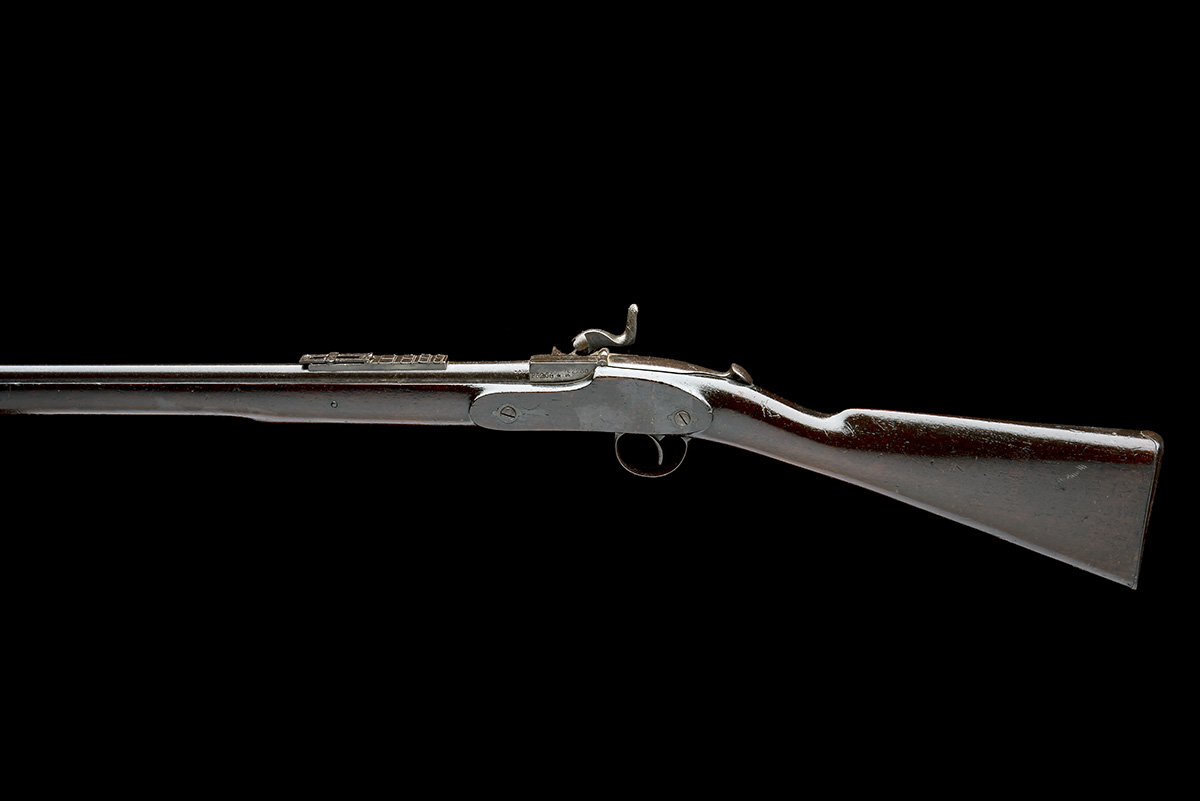 WESTLEY RICHARDS & CO, BIRMINGHAM A .450 (WHITWORTH) CAPPING BREECH-LOADING CARBINE, MODEL ' - Image 2 of 9