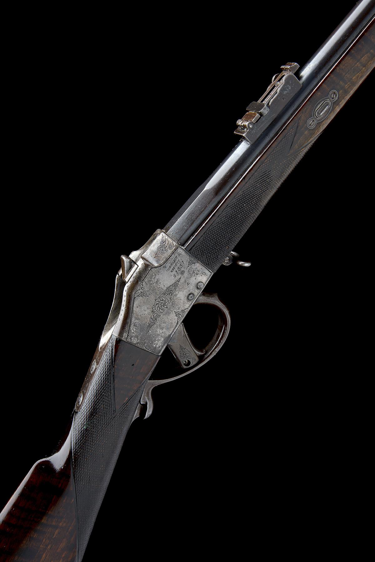 CHILEAN COMBLAIN AN 11x50R SINGLE-SHOT FALLING-BLOCK SPORTING-RIFLE, UNSIGNED, MODEL 'M84 COMBLAIN