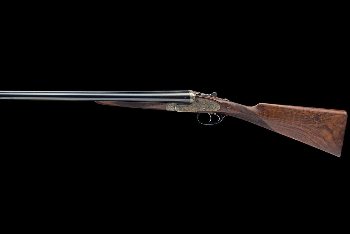 FORMERLY THE PROPERTY OF GOUGH THOMAS HENRY ATKIN A FINE, KELL-ENGRAVED 12-BORE SPRING-OPENING - Image 2 of 13