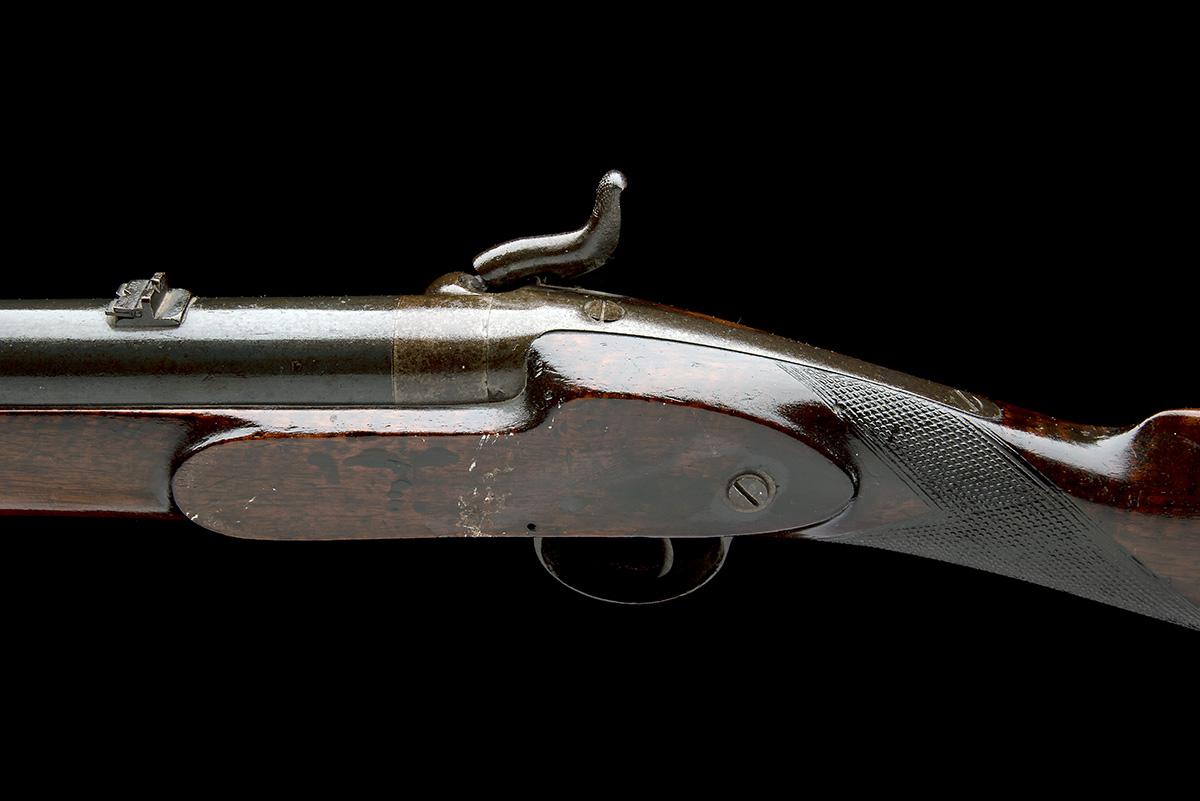 C.G. BALES, DURBAN, SOUTH AFRICA A RARE 4-BORE PERCUSSION RIFLED SHOT & BALL GUN FOR DANGEROUS GAME, - Image 4 of 10
