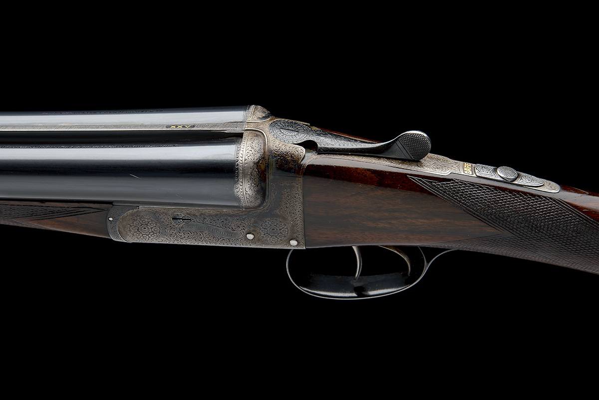 E.J. CHURCHILL A 12-BORE 'UTILITY EASY-OPENING' BOXLOCK EJECTOR, serial no. 5631, for 1936, 25in. - Image 4 of 8
