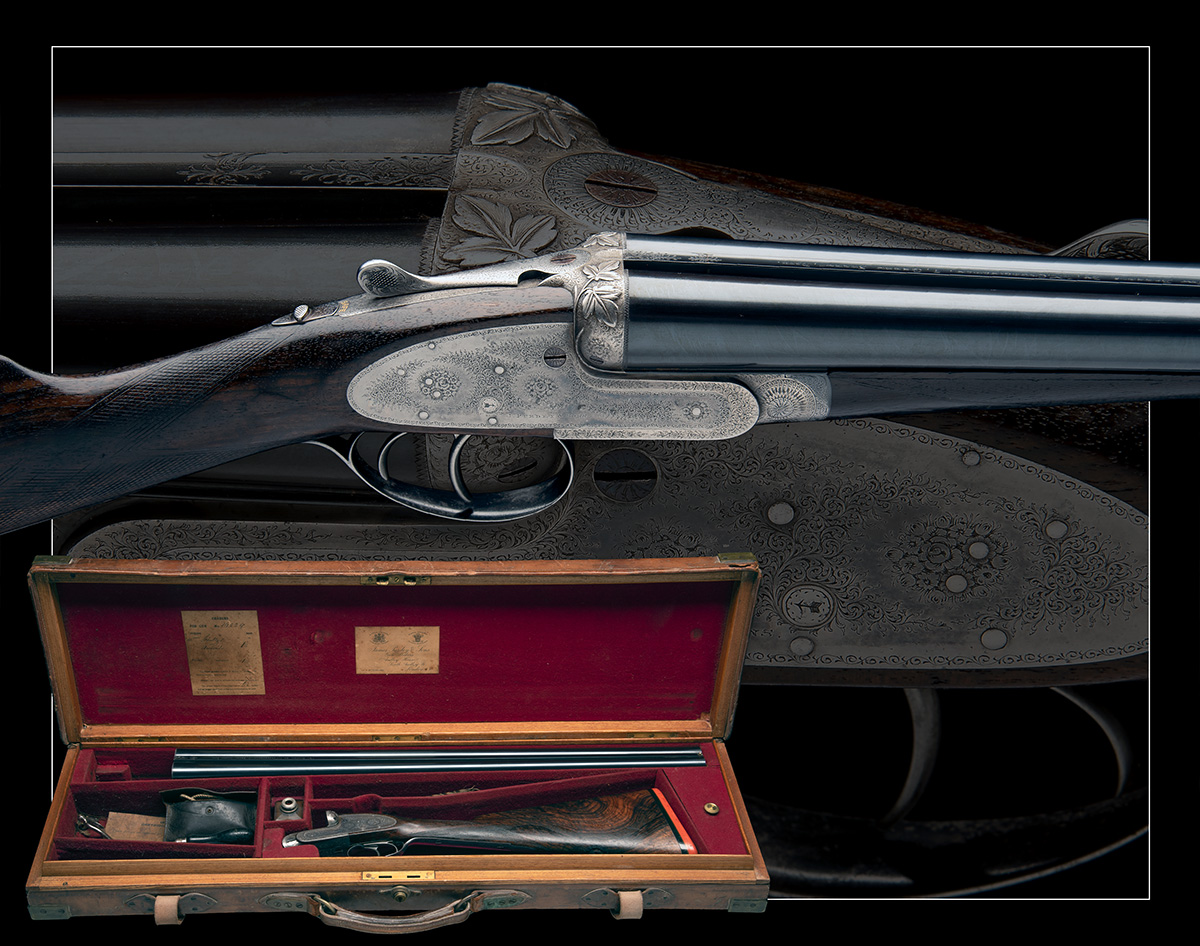 J. PURDEY & SONS A 12-BORE SELF-OPENING SIDELOCK EJECTOR, serial no. 16229, for 1898, 26in. - Image 10 of 10