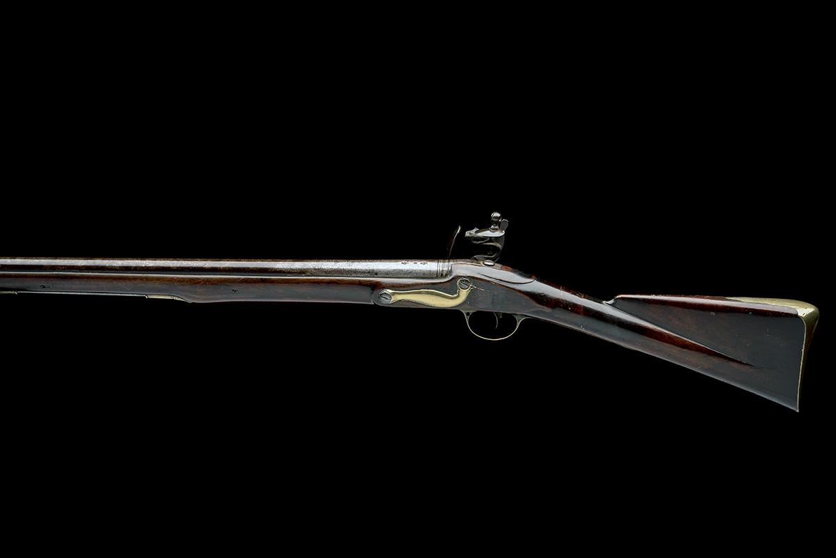 RIVIERE, LONDON A GOOD .750 FLINTLOCK MUSKET, MODEL 'INDIA PATTERN BROWN BESS', rack no. 4, WITH - Image 2 of 9