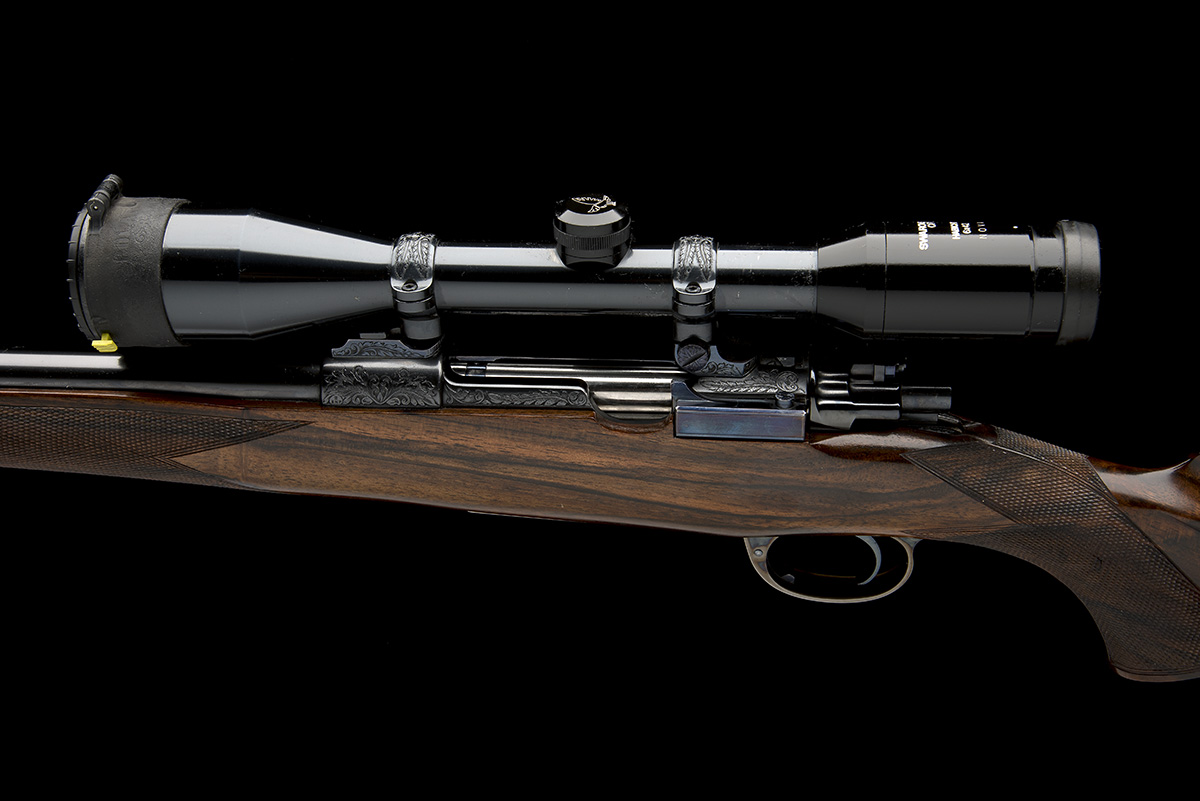 ROY MARTIN A .243 WIN. BOLT-MAGAZINE SPORTING RIFLE, serial no. H0680, circa 1986, 21in. unsighted - Image 4 of 9