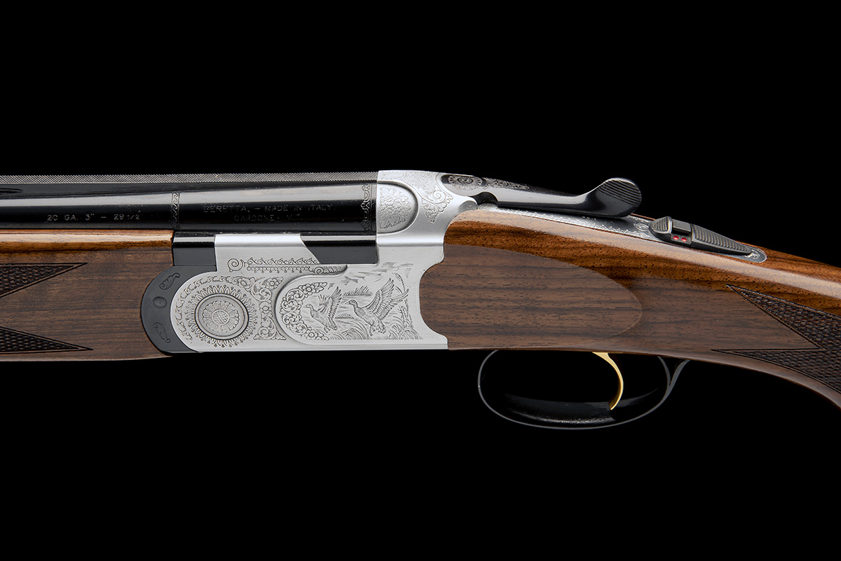 P. BERETTA A 20-BORE (3IN.) 'S687 SILVER PIGEON' SINGLE-TRIGGER OVER AND UNDER EJECTOR, serial no. - Image 4 of 8