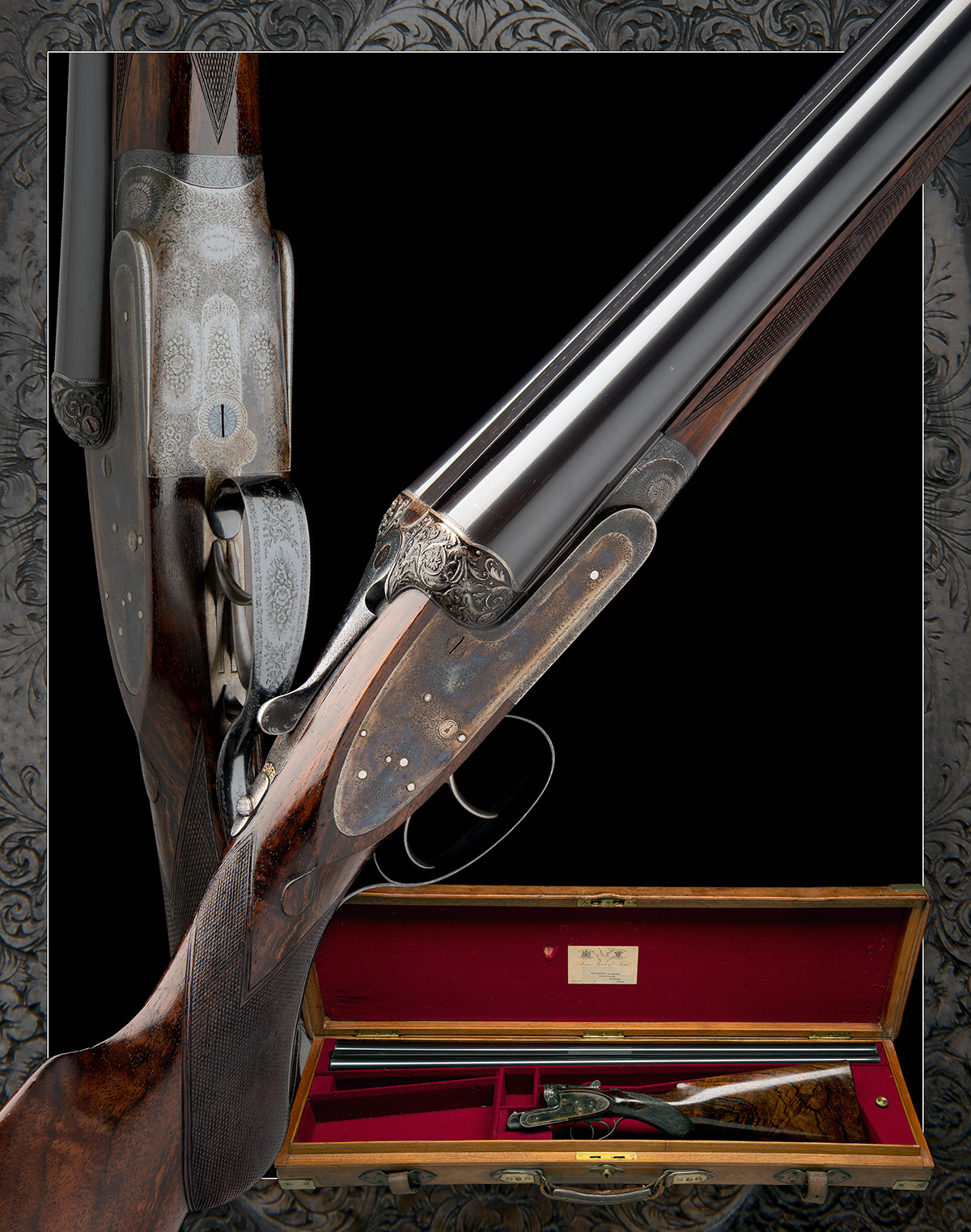 J. PURDEY & SONS A FINE 12-BORE (3IN.) SELF-OPENING SIDELOCK EJECTOR WILDFOWLING GUN, serial no. - Image 11 of 11