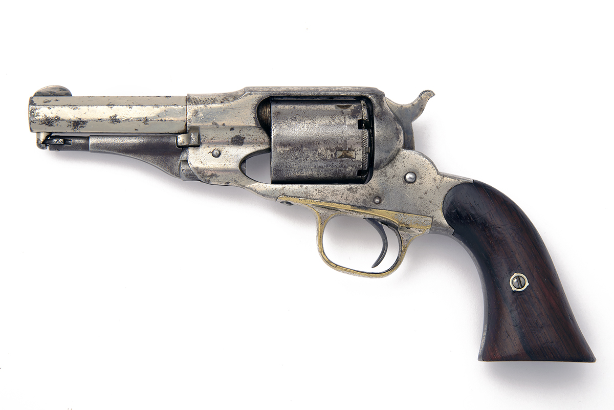 E. REMINGTON & SONS, USA A .380 (RIMFIRE) FIVE-SHOT REVOLVER, MODEL 'FACTORY CONVERSION OF THE NEW - Image 2 of 2