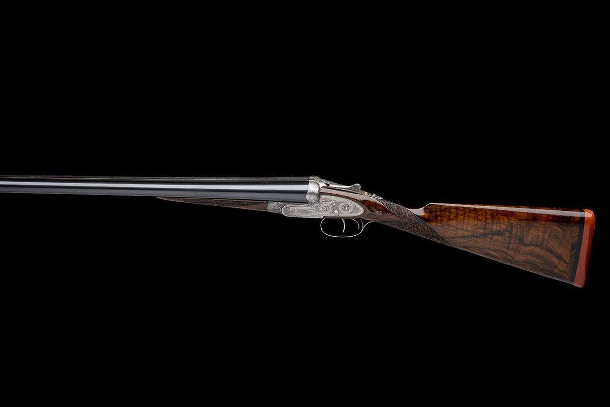 J. PURDEY & SONS A 12-BORE SELF-OPENING SIDELOCK EJECTOR LIVE PIGEON GUN, serial no. 21119, with - Image 2 of 9