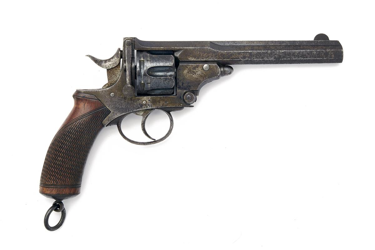 WEBLEY FOR I. HOLLIS, LONDON A .380 (C/F) SIX-SHOT BREAK-OPEN REVOLVER, MODEL 'WEBLEY'S No.4 PRYSE-