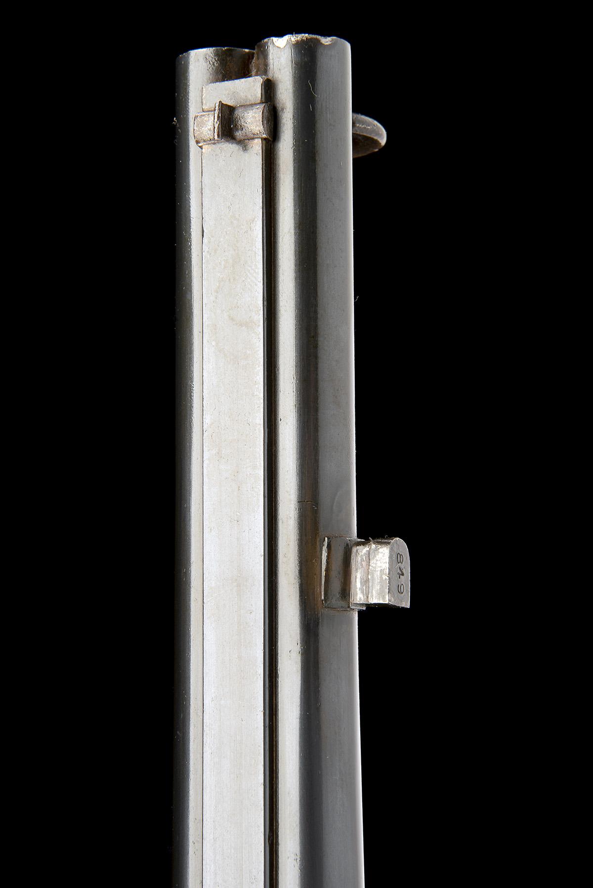 SWINBURN & SON, BIRMINGHAM A .524 PERCUSSION DOUBLE-BARRELLED SERVICE RIFLE, MODEL 'JACOB'S - Image 9 of 9