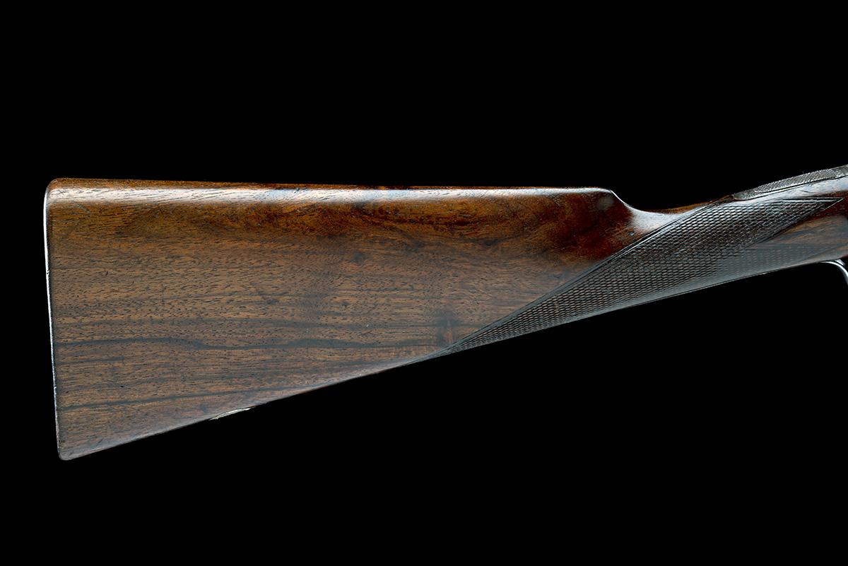 A. ALLAN A 28-BORE SIDELOCK NON-EJECTOR, serial no. 7666, circa 1890, 28in. nitro reproved bold - Image 7 of 8