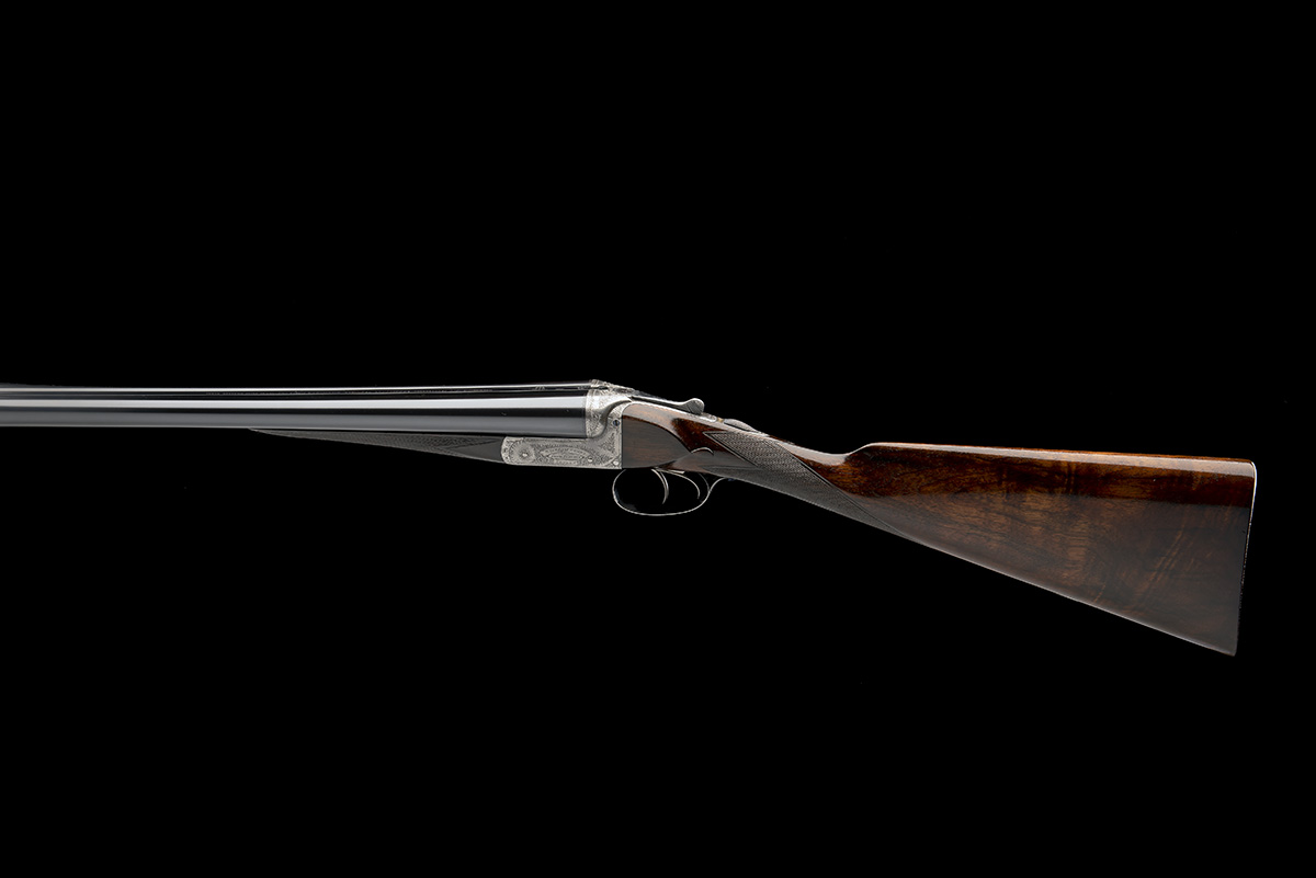 WILLIAM EVANS (FROM PURDEY'S) A 12-BORE BOXLOCK EJECTOR, serial no. 3733, for 1897, 30in. - Image 2 of 9