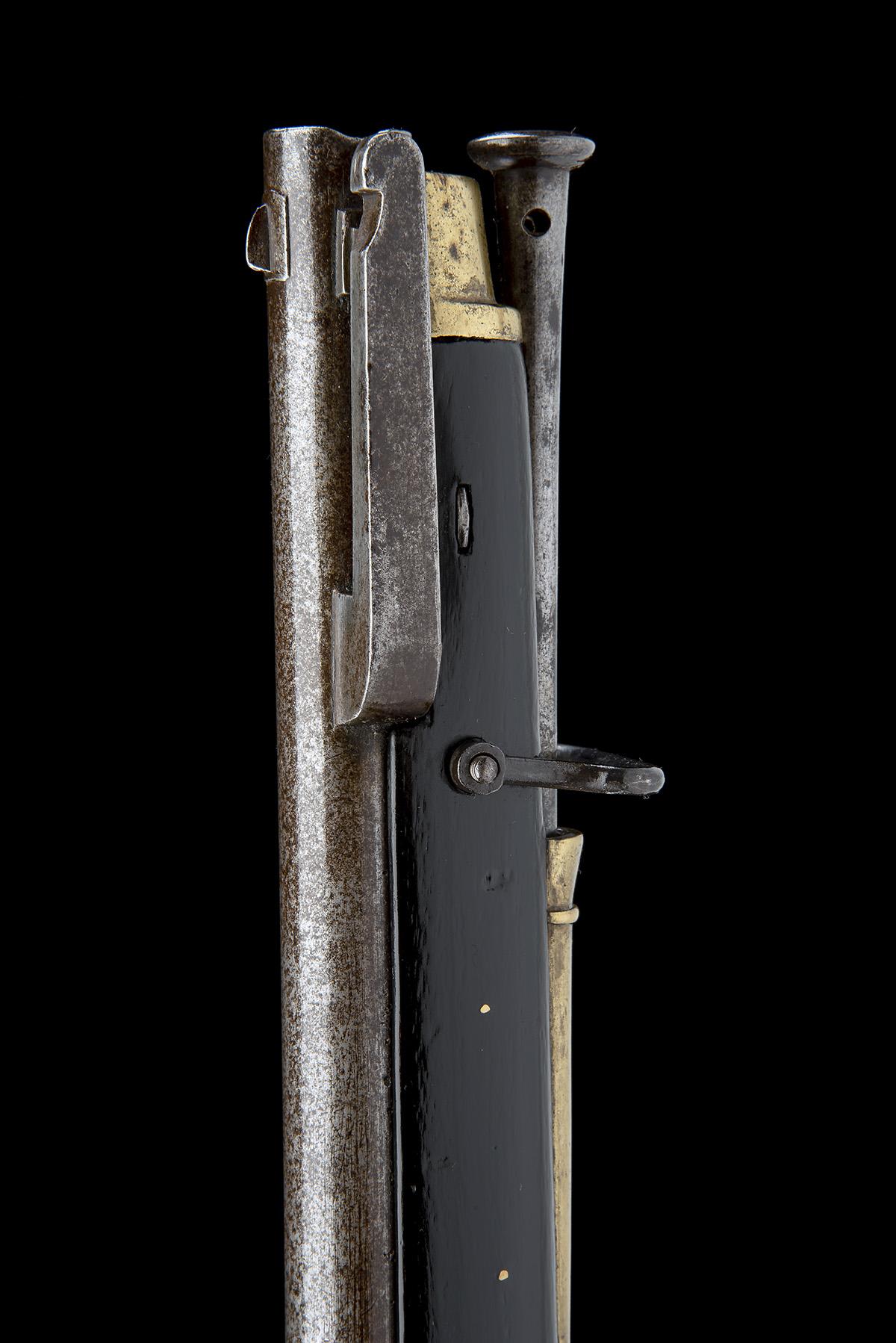 E.S. BAKER & SON, LONDON A .700 PERCUSSION SERVICE-RIFLE, MODEL 'EAST INDIA Co. MKII BRUNSWICK', - Image 6 of 8