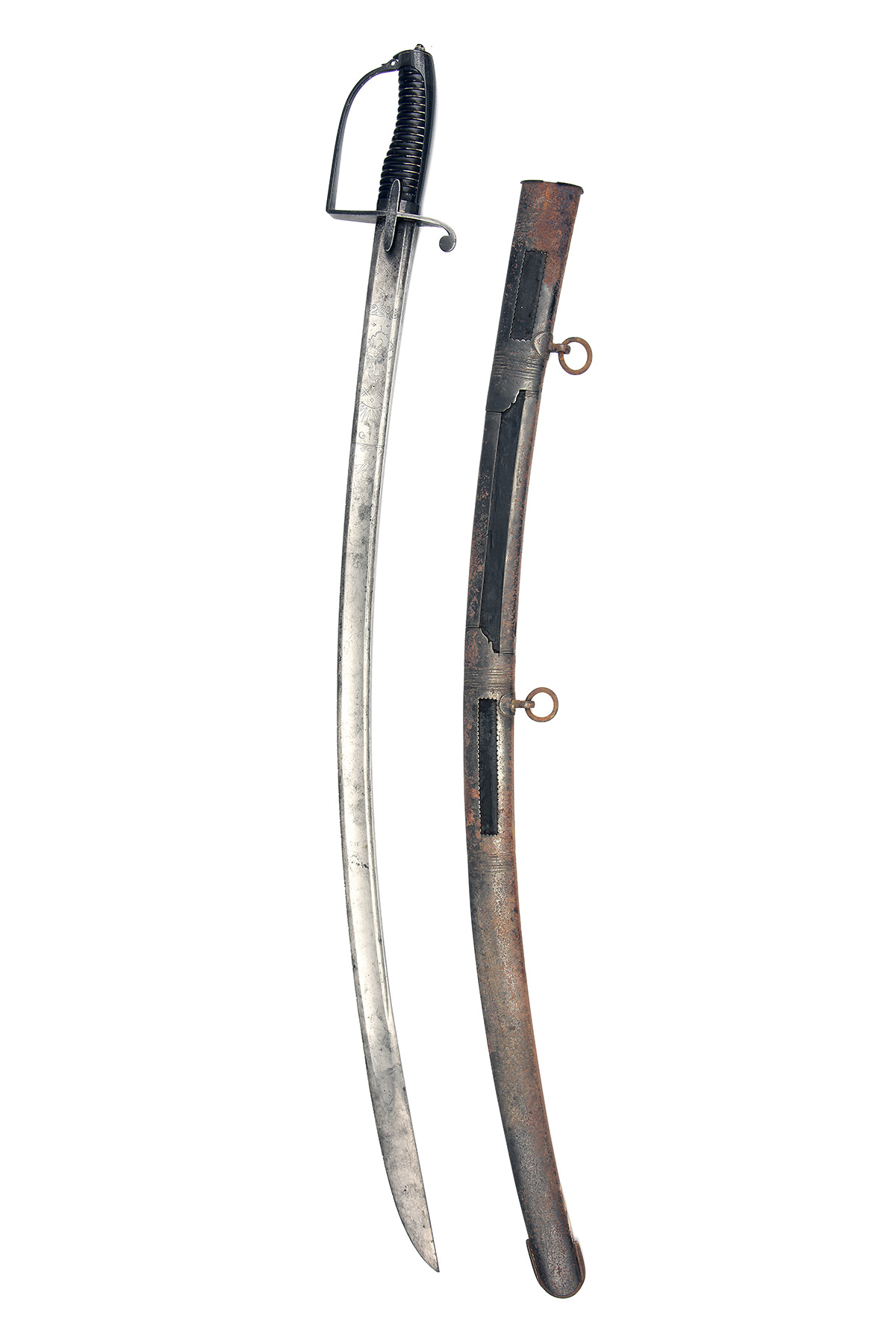 J.J. RUNKEL, SOLINGEN A SCARCE BRITISH 1788 PATTERN OFFICER'S SWORD, circa 1795, with curving