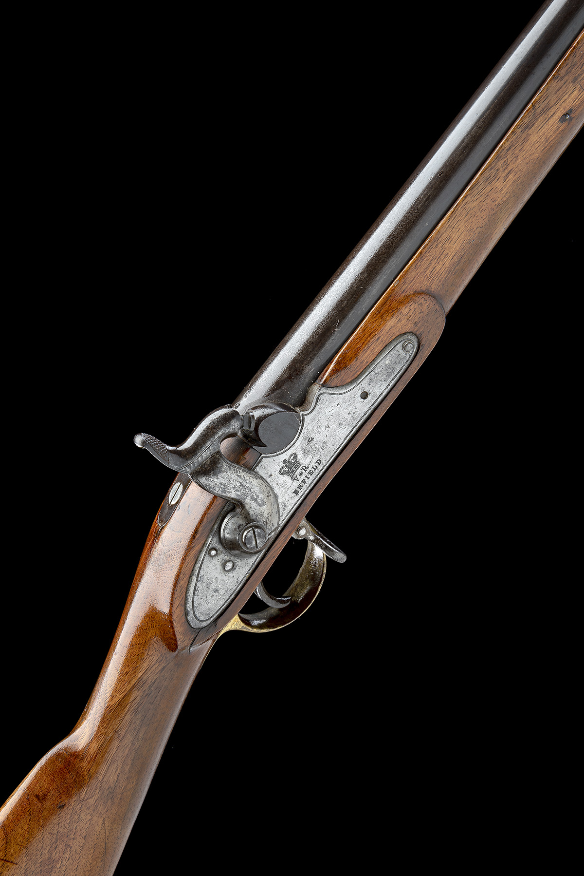ENFIELD, ENGLAND A .730 PERCUSSION SERVICE-CARBINE, MODEL '1840 SERGEANTS OF THE LINE', no visible