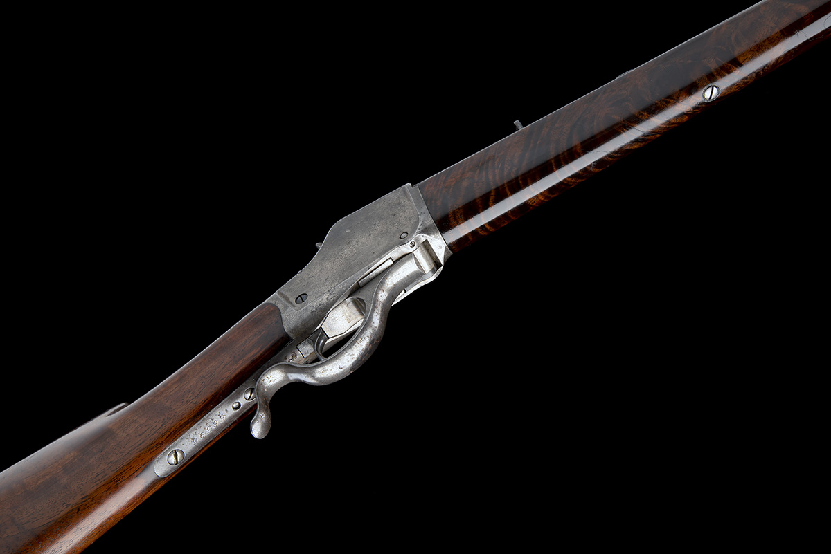 WINCHESTER REPEATING ARMS, USA A .40-90 (WINCHESTER SINGLE-SHOT) SPORTING-RIFLE, MODEL '1885 HIGH- - Image 3 of 6