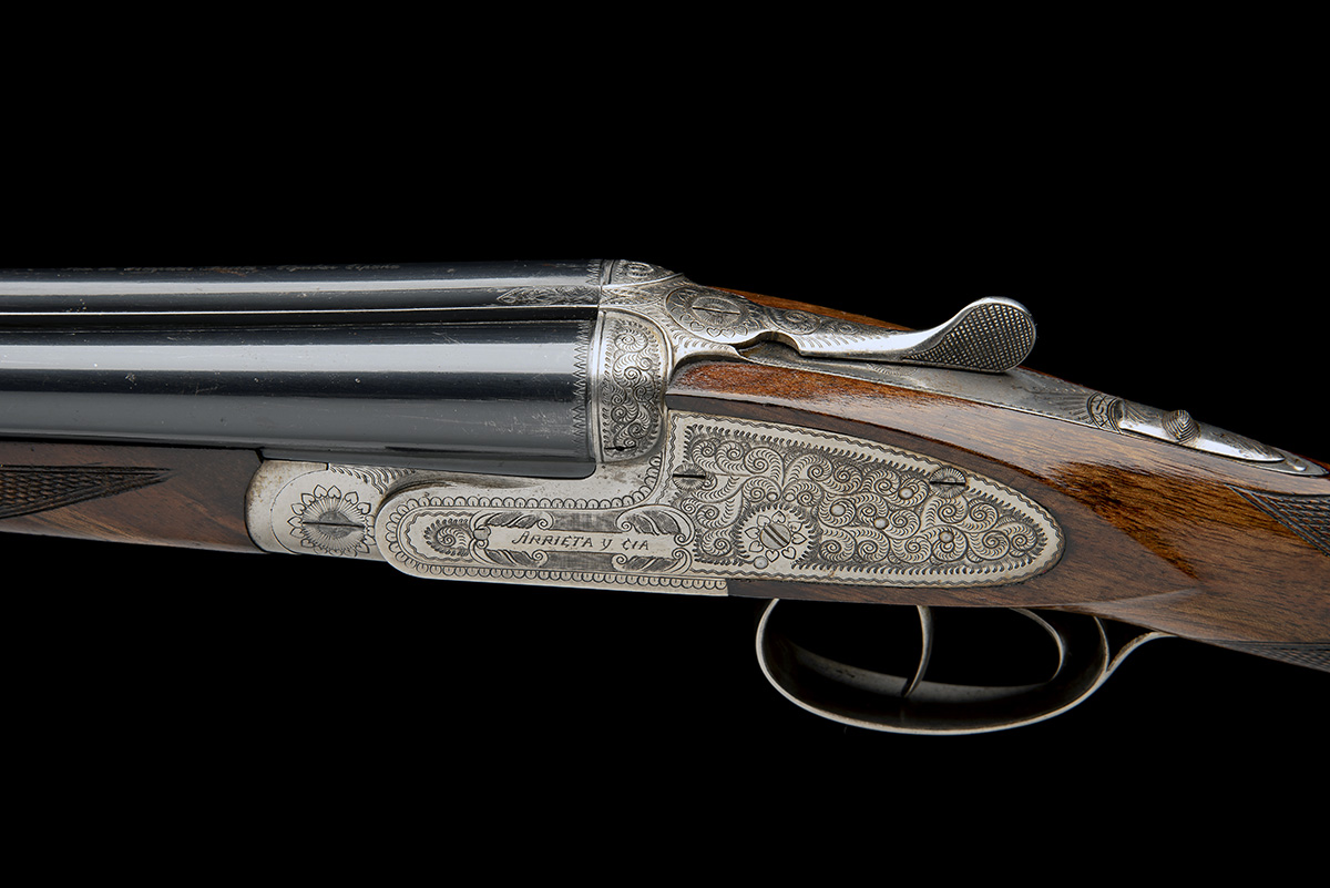 ARRIETA A 28-BORE 'MODEL 557' SIDELOCK EJECTOR, serial no. 16-03, for 2003, full Spanish code 57- - Image 4 of 8
