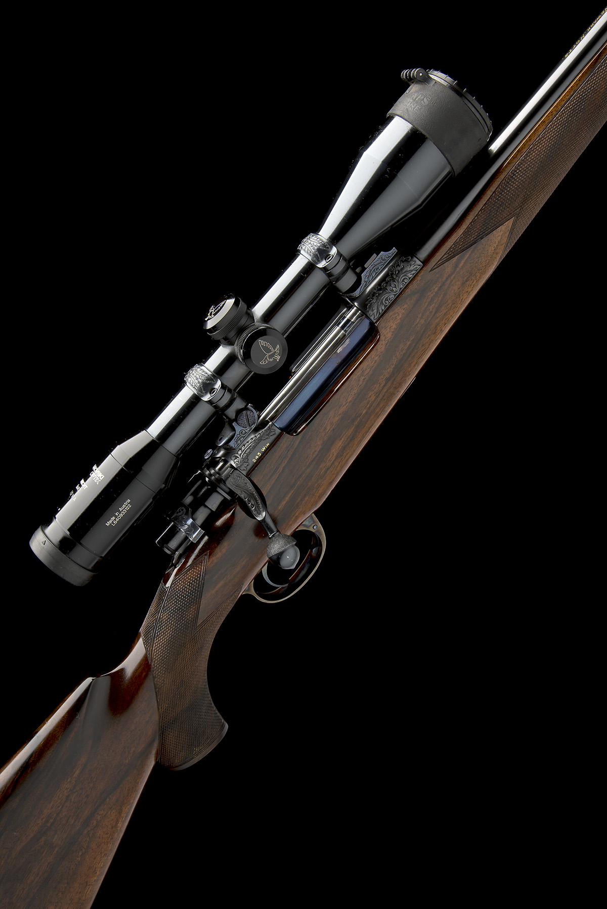 ROY MARTIN A .243 WIN. BOLT-MAGAZINE SPORTING RIFLE, serial no. H0680, circa 1986, 21in. unsighted