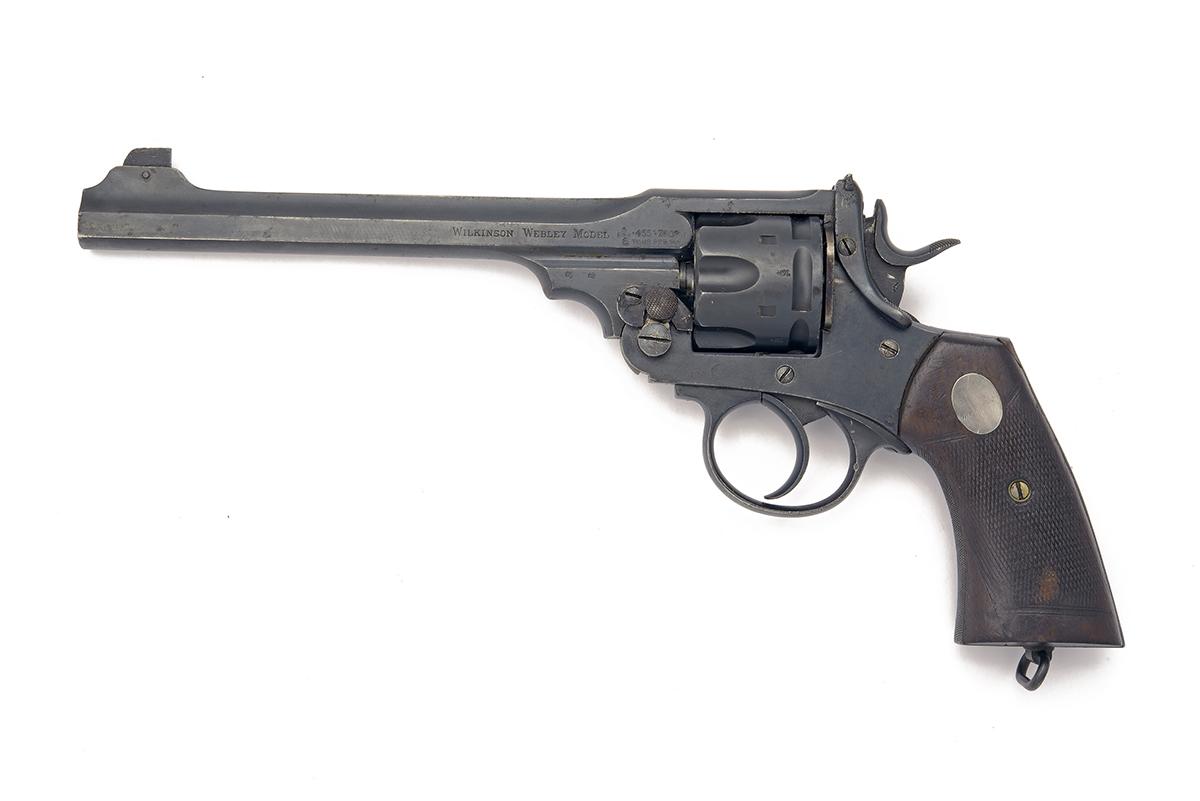 WILKINSON-WEBLEY, LONDON A .455 SEMI-AUTOMATIC SIX-SHOT REVOLVER, MODEL '1911 WILKINSON-WEBLEY