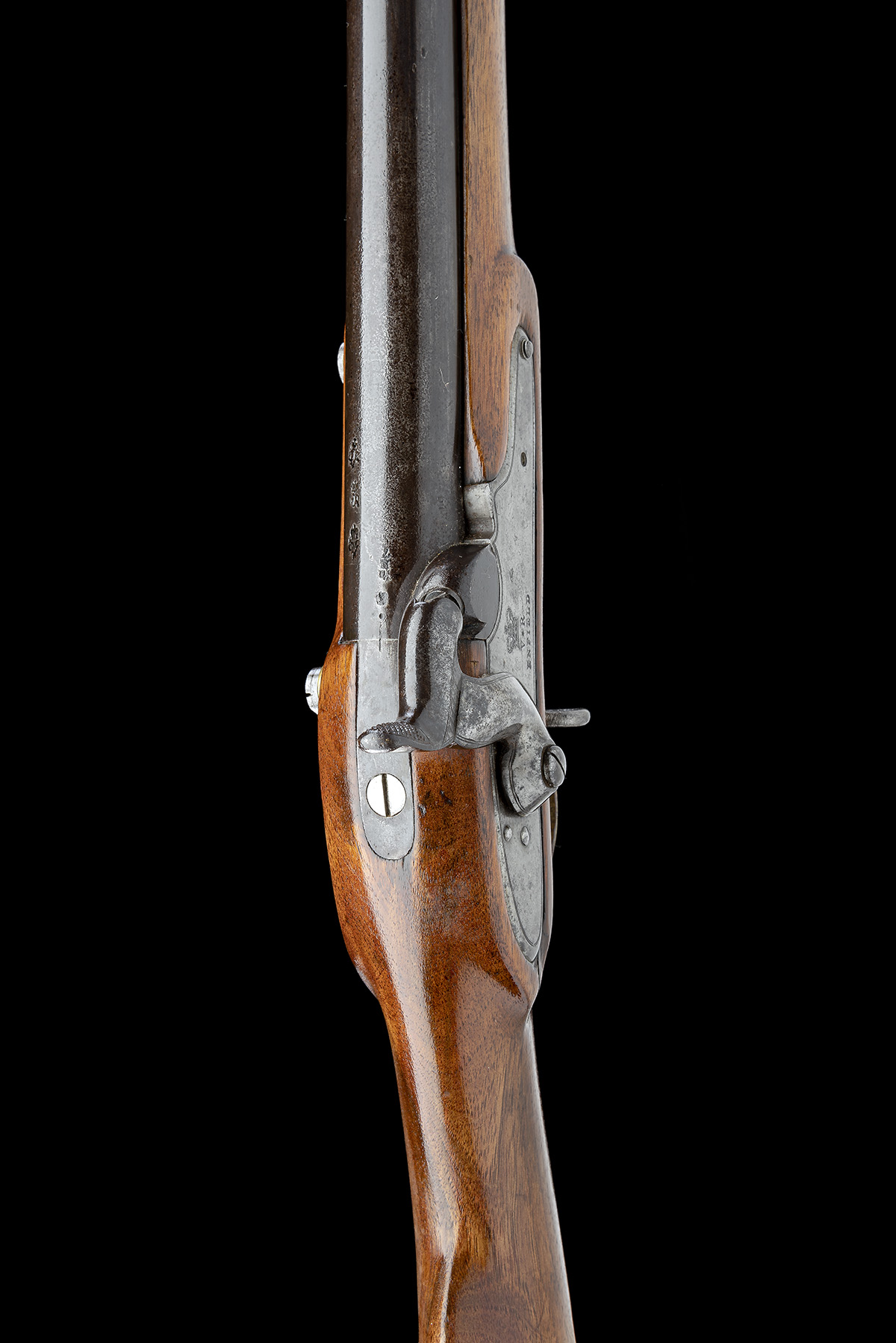 ENFIELD, ENGLAND A .730 PERCUSSION SERVICE-CARBINE, MODEL '1840 SERGEANTS OF THE LINE', no visible - Image 4 of 8
