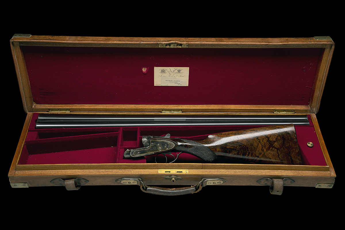 J. PURDEY & SONS A FINE 12-BORE (3IN.) SELF-OPENING SIDELOCK EJECTOR WILDFOWLING GUN, serial no. - Image 9 of 11