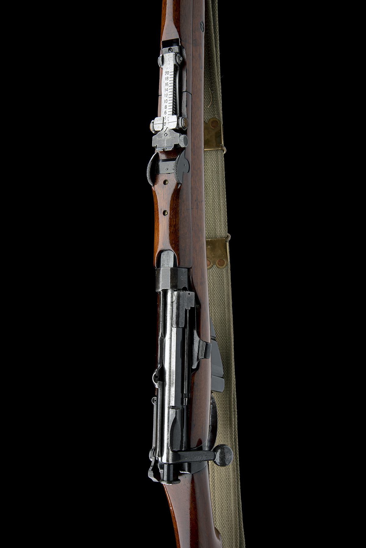 B.S.A. CO. SPARKBROOK A RARE .303 BOLT-ACTION REPEATING SERVICE-RIFLE, MODEL 'SHT L.E. MK 1*', - Image 4 of 11