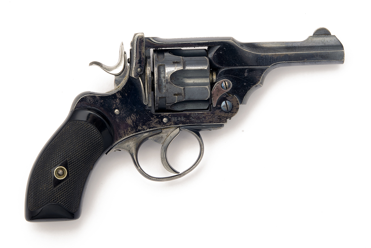 P. WEBLEY & SON, LONDON & BIRMINGHAM A SCARCE .320 (SHORT) SIX-SHOT POCKET-REVOLVER, MODEL 'MKIII - Image 2 of 2
