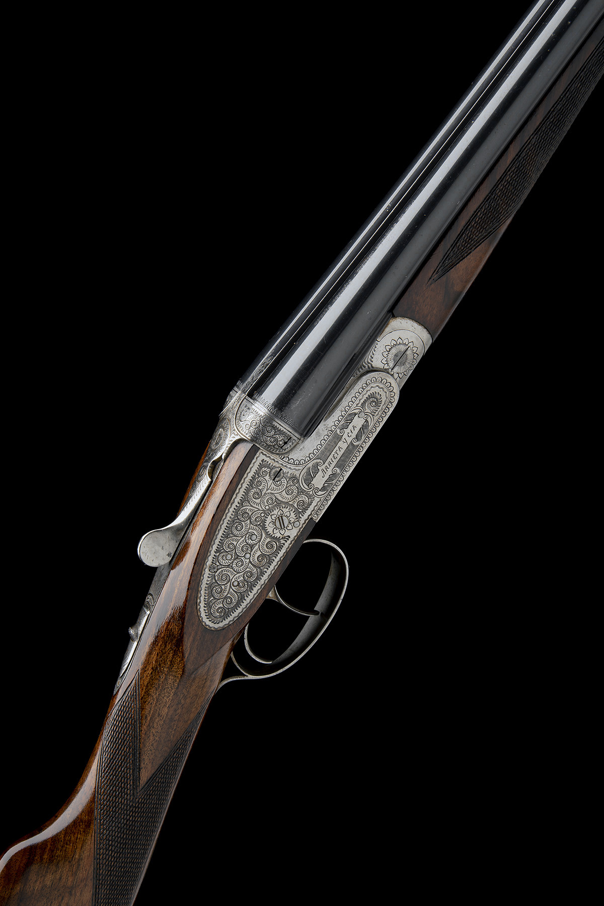 ARRIETA A 28-BORE 'MODEL 557' SIDELOCK EJECTOR, serial no. 16-03, for 2003, full Spanish code 57-