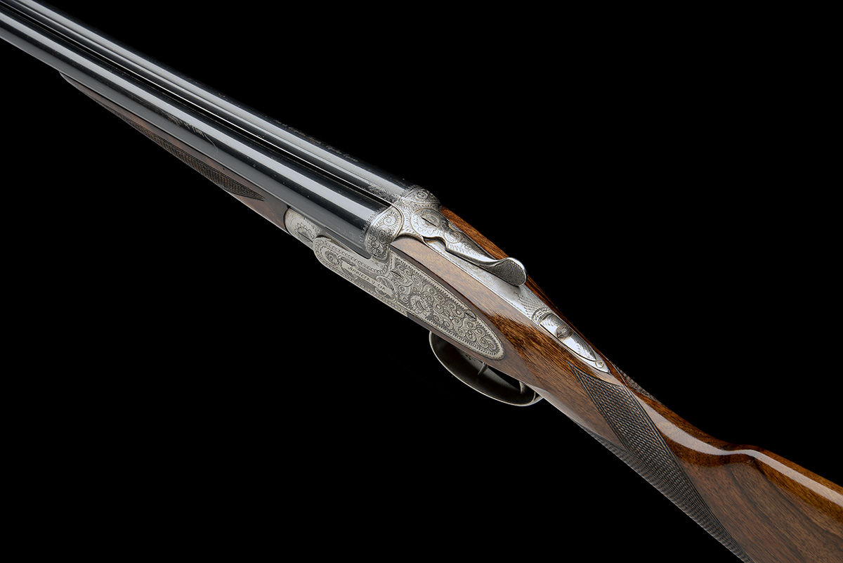 ARRIETA A 28-BORE 'MODEL 557' SIDELOCK EJECTOR, serial no. 16-03, for 2003, full Spanish code 57- - Image 5 of 8