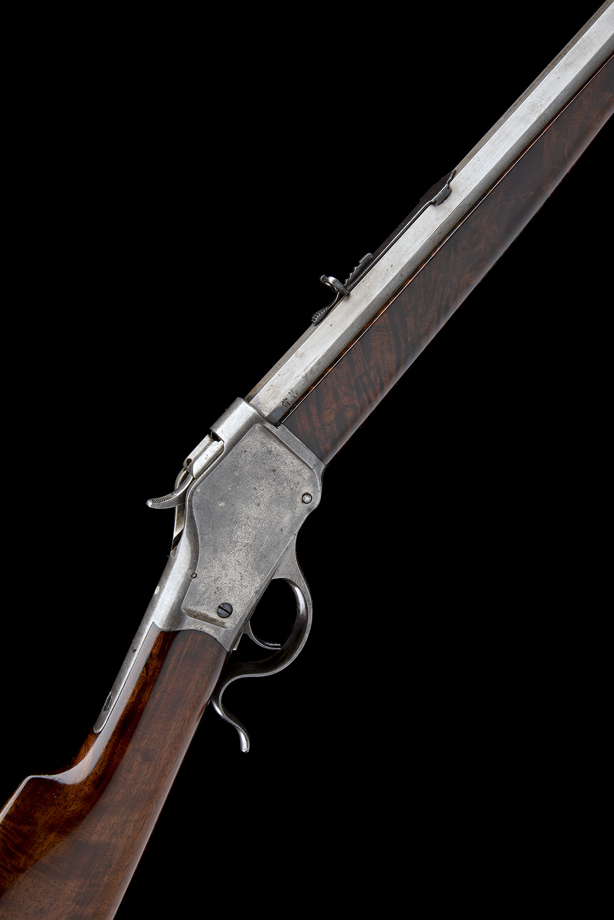 WINCHESTER REPEATING ARMS, USA A .40-90 (WINCHESTER SINGLE-SHOT) SPORTING-RIFLE, MODEL '1885 HIGH-